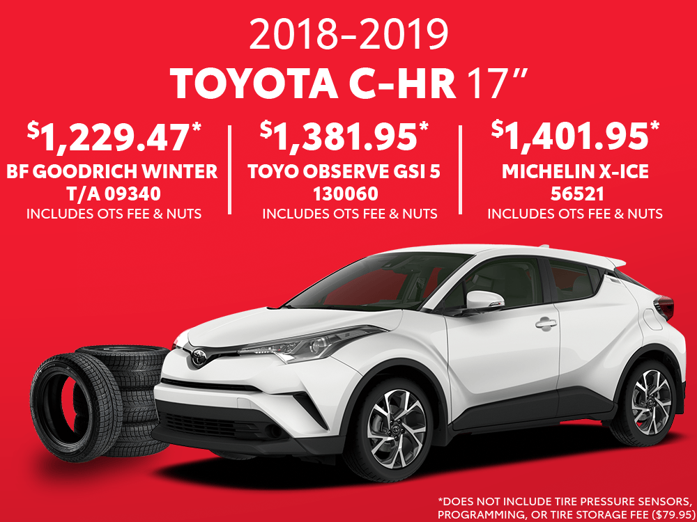 Toyota C-HR 17″ Winter Tire Special