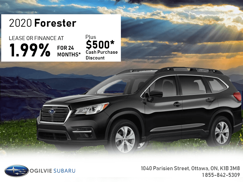 Lease The 2020 Forester