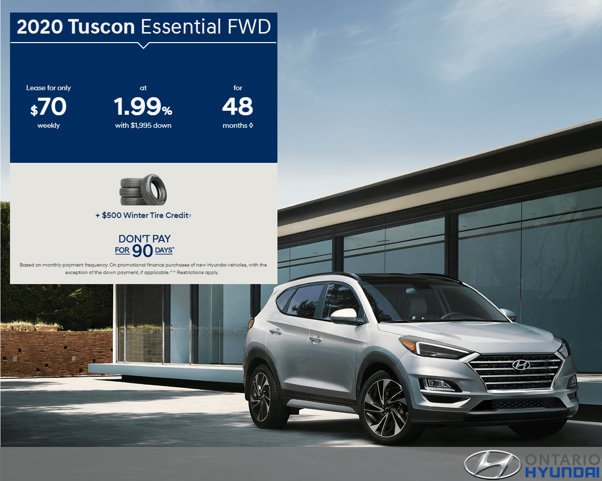 Lease the 2020 Tucson