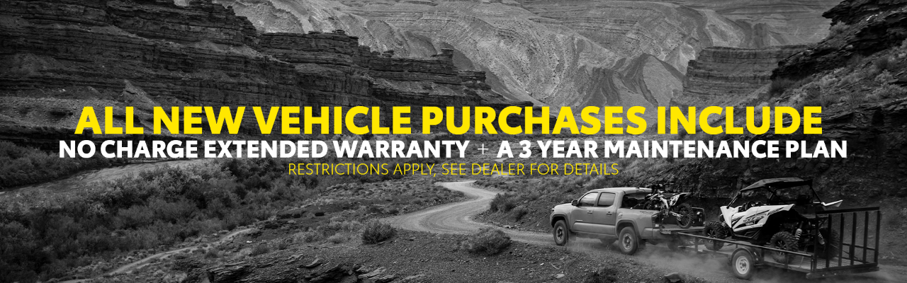 Free Extended Warranty & Maintenance Plan