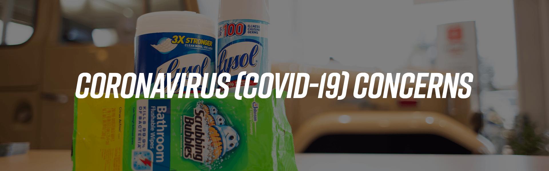 Coronavirus scrubbing bubbles